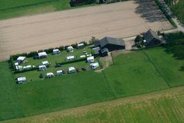 camping De Weijde Blick luchtfoto